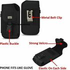 Extra Heavy Duty Pouch Clip Holster Case Cover For iPhone 7 Plus