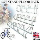 Stainless Steel 4/5/6 Bike Cycle Bicycle Stand Floor Rack Parking Mount Holder