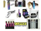 GENUINE METAL CHROME METALLIC CLIPPER LIGHTER WITH GIFT CASE TIN + FAST DISPATCH