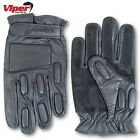 VIPER TACTICAL GLOVES LEATHER PATROL BIKER ARMY CADET POLICE SECURITY