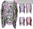 BUTTERFLY LEOPARD LADIES SUMMER BEACH DRESS SWIMWEAR COVER UP KAFTAN KIMONO