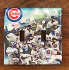 Chicago Cubs light switch plate cover 2016 world series team photo // FAST SHIP on Ebay