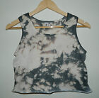 Tie dye Acid wash Grunge crop top vintage Hipster Retro 80s cropped T Shirt vest