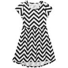 Faded Glory Girls' Short Sleeve Hi Lo It Dress