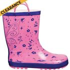 Outdoor Expedition Patch Gumboots - Fairy Pink/Kids, 13