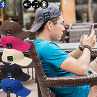 NEW Street Fashion Electric Bluetooth Baseball Headset Easy Music Cap Lover Gift