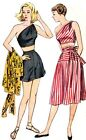 #188 1948 PLAY SUIT AND SKIRT  PATTERN