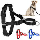 Nylon No Pull Dog Harness Vest Easy Walking Soft for Large Dogs Walking S M L XL