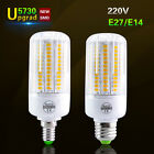 E27 E14 Led Corn Bulb 5730 SMD 24 -108Leds Lighting Lamps 220V