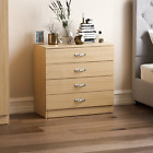 Furniture Best Deals - Riano Chest Of Drawers Bedside Cabinet Dressing Table Bedroom Furniture Wooden