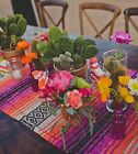 "Внешний вид -  Mexican Falsa Classic Blanket Table Runner 70"" by 13"".  Choose from many colors"
