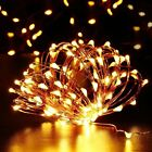 Christmas Starry Garden Party Light 33ft 100 LED Fairy Copper String Outdoor