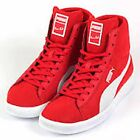 NEW PUMA USAIN BOLT MID MENS HIGH TOP BOOTS TRAINERS RED