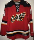 JOHNNY GAUDREAU CALGARY FLAMES MENS REEBOK PREMIER HOCKEY JERSEY PRO CUSTOMIZED