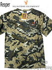 Hunters Element mens REAPER quick dry mesh hunting Bare camo s/s tee shirt New