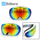 Frameless Snowboard Snowmobile Professional Anti Fog UV Double Lens Ski Goggles