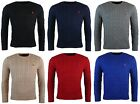 NWT Polo Ralph Lauren Men's Cotton Crewneck Cable Knit Sweater