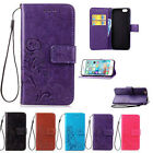 Flip Leather Wallet Cards Slot Stand Case Cover For Apple iPhone 4S 5S 6 6S Plus