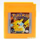 GameBoy Pok�mon Games Cards For Nintendo GB GBC GBA Xmas Gifts 7 Version