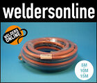 OXY ACETYLENE TWIN HOSE 5m or 10m or 15m MTR. QUALITY BOSSWELD
