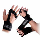 Fitness Gloves Weight Lifting Gym Workout Training Wrist Wrap Strap S-M / X-XL