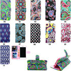 For Samsung Iphone Huawei Phone wallet Card Holder Leatheor Case Stand Cover ST4