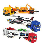 Children Boys Toy Diecast Car Transporter Truck Vehicle Toy Kids Birthday Gift .
