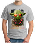 YODA-DEEJAY - T-Shirt MUSIC STORMTROOPER HOUSE HipHop INDIE TRANCE RAVE, S - 5XL