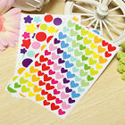 6 Sheets Lovely Colorful Sticker Diary Planner Scrapbook Ablums Decoration DIY