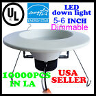 8 PCS  DownLight 12W LED Recessed Trim Dimmable 5/6 Inch Retrofit Down Light UL