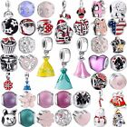New Xmas European Charm Beads For 925 Sterling Silver Bracelet Chain Ring Bangle