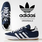 new ADIDAS SAMBA SUEDE MENS LEATHER ORIGINAL STRAINERS NAVY