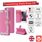 Luxury Pearl Leather Magnetic Flip Stand Bling Wallet Cover Case For iPhone 6 6+