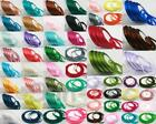 Polyester Satin Ribbon Fabric Cord 52 Colors 6-20mm - Weddings Cakes Crafts DIY