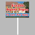 Cheap Estate Agent sign-4mm Printed Correx Signs-Security Sign Board-Fast ship