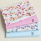50cm*160CM Fasion Flower 100%cotton fabric Quilting  Clothes Bedding Sewing 037