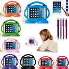 Cartoon Shockproof Kids Tablet Handle Stand Case Cover For iPad 2 3 4 / Air 2