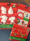 Snoopy Christmas Crafts  Painting, Beads, Stickers