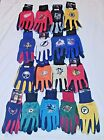 NHL GLOVES ALL PURPOSE SPORTS UTILITY GLOVES ASSORTED TEAMS