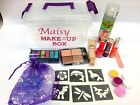 GLITTER TATTOO KIT MAKE UP GLITTER Stocking filler Christmas PERSONALISED FREE