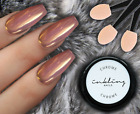 INKLING Rose Gold Chrome Mirror Effect Nails Powder Dust Polish Pigment