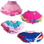 Jona Michelle Girls' Multi Layered Tutu Skirt, Bright Colors NWOT
