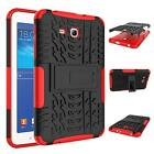 Shockproof Rubber Kickstand Cover Case For Samsung Galaxy Tab 3 Lite 7.0 SM-T110