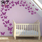 42pcs Mini Butterflies Vinyl Wall Sticker Decal Kids Bedroom Baby Nursery Home