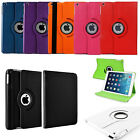 360 Rotating PU Leather Stand Case Smart Cover for for  iPad Mini 1 2 3