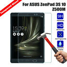 Premium Tempered Glass Screen Protector Cover For ASUS ZenPad 3S 10 Z500M Tablet