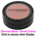 Shimmer Blush / Cheek Colour, Pressed, 1/2oz Pot, by Masquerade