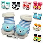SPIRIUS Baby Boys Girls socks Booties Indoor Shoes Slippers animal cartoon gift