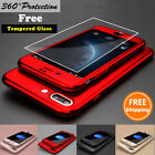 Внешний вид - 360° Protective Hard Thin Case Cover+Tempered Glass For Apple iPhone 6 6S 7 Plus