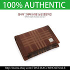 [OMNIA] Korea MEN'S GENUINE LEATHER Business Card Holder/ Case MW614E Metallic